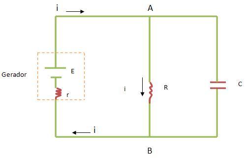 Circuito Rc : Circuito rc paralelo capacitores colégio web
