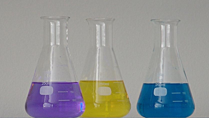 Principais materiais de laboratorio de quimica