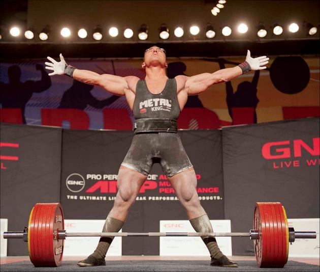 Músculo grande não é sinônimo de força