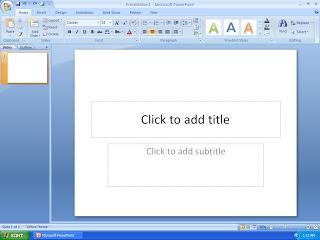 Faça slides eficientes para a sua apresentação