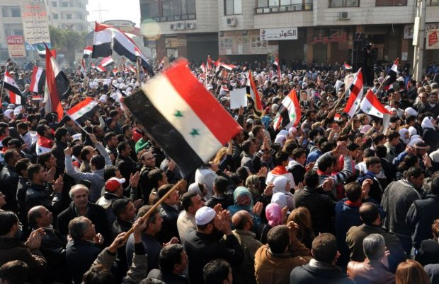 Manifestações na Síria