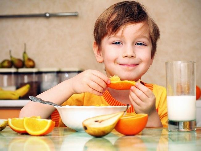 Comida Saudável Crianças