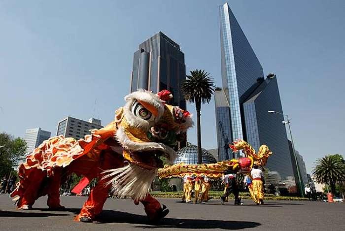 ano novo na China