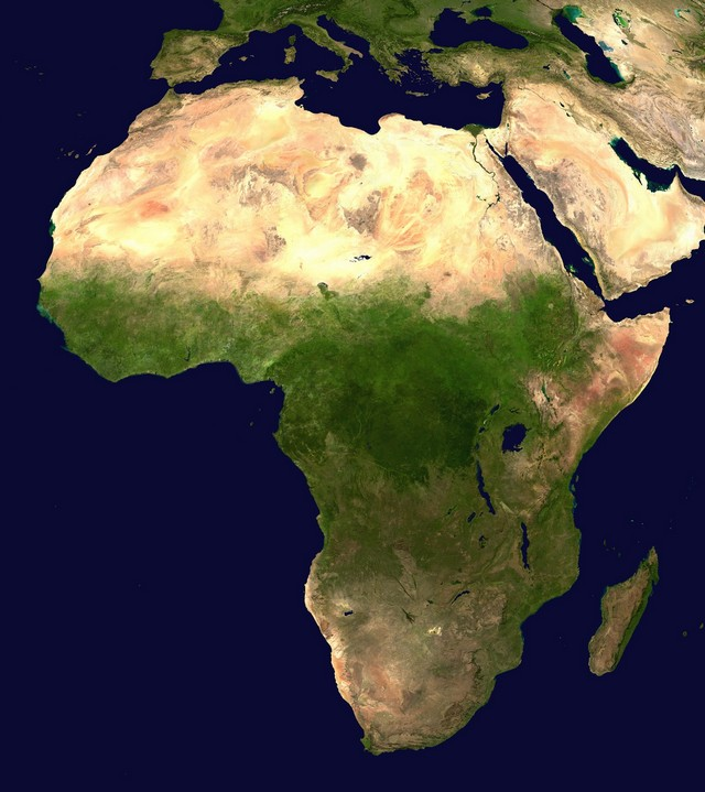 Regiões Africa
