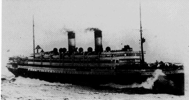 navio dos imigrantes