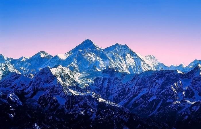 Como foram formadas as grandes montanhas