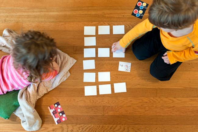 Jogo da memória Criança