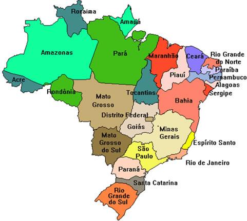 estados brasil