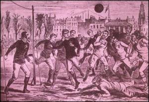 surgimento do futebol