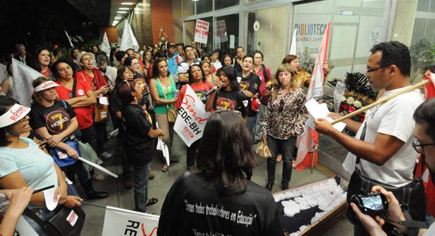 Professores de Belo Horizonte encerram a greve