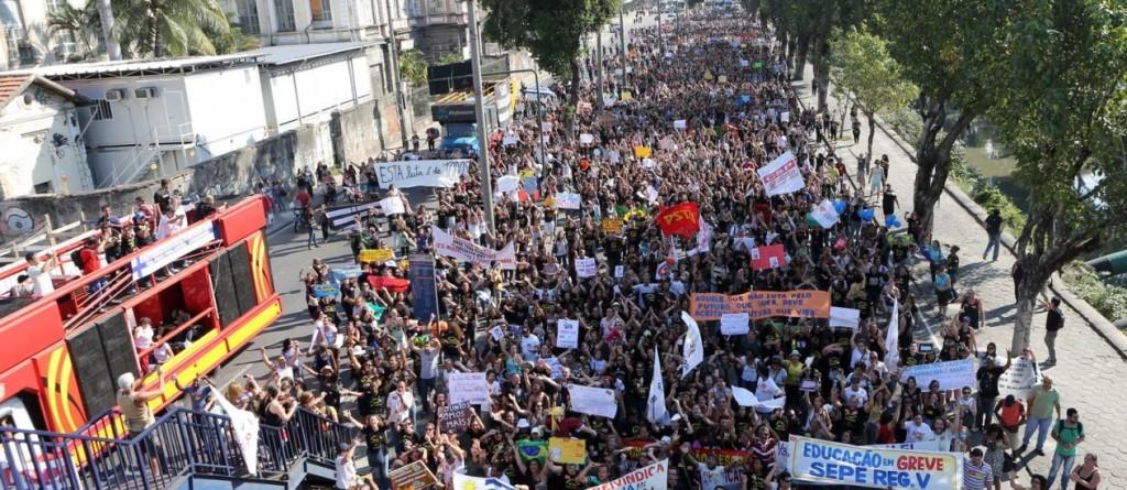 greve professores rio de janeiro 2