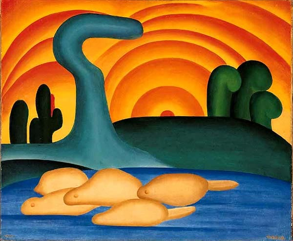 Obra Tarsila do Amaral