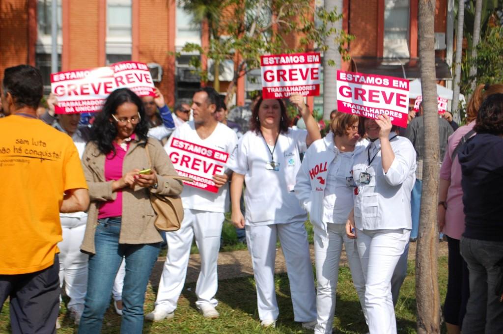 Servidores da Unicamp seguem em greve depois de recusarem proposta da reitoria
