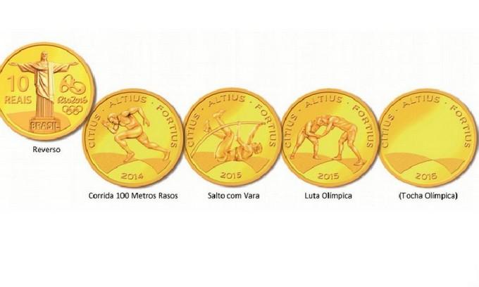 Banco Central lança nove moedas comemorativas dos Jogos Olímpicos 2016