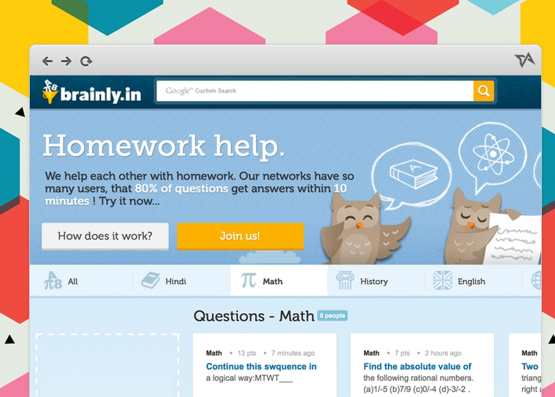 Conheça a rede social educativa Brainly