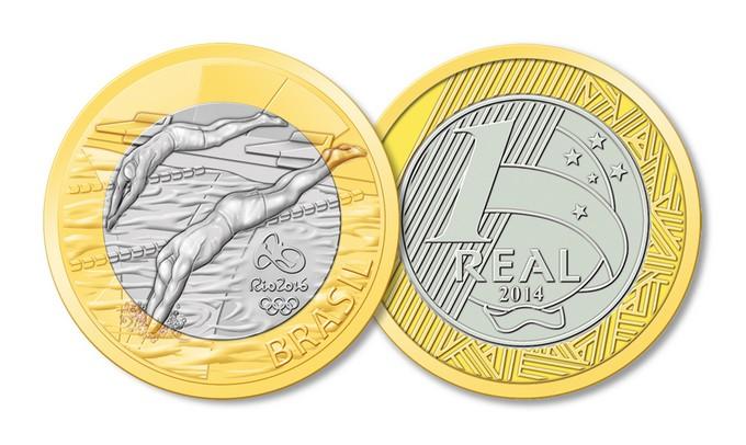 O espirito olímpico nas moedas