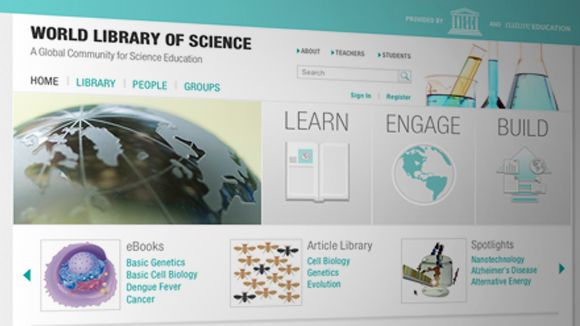 Unesco lança projeto de biblioteca científica global