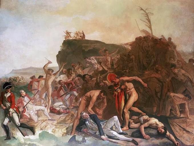 Como foi a colonização na Austrália