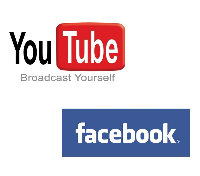 YouTube Facebook