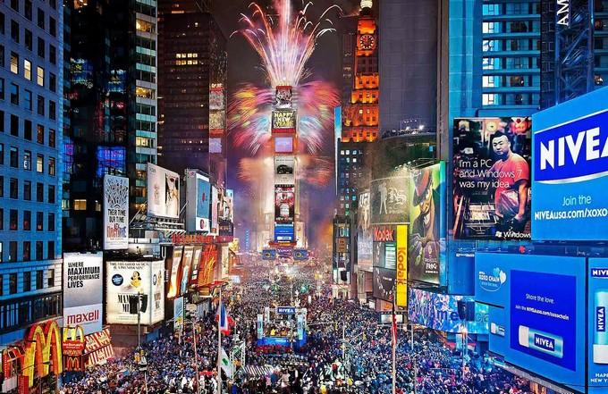 Como foram as festas de Ano Novo no Brasil e no Mundo