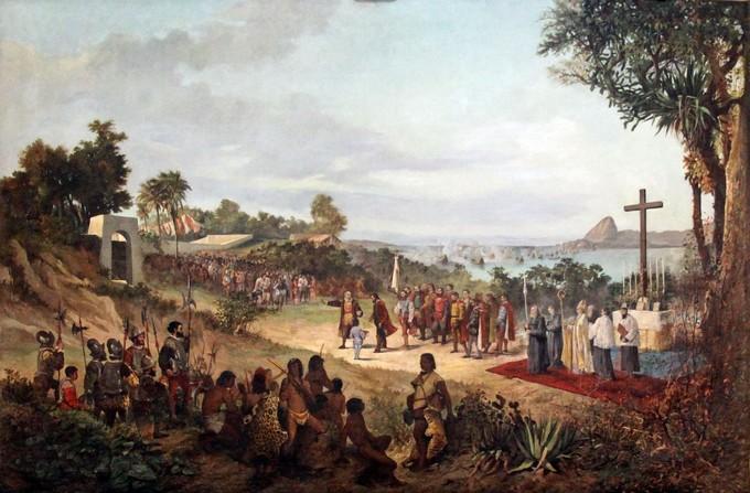 colonização rio de janeiro
