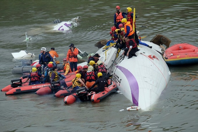 taiwan acidente
