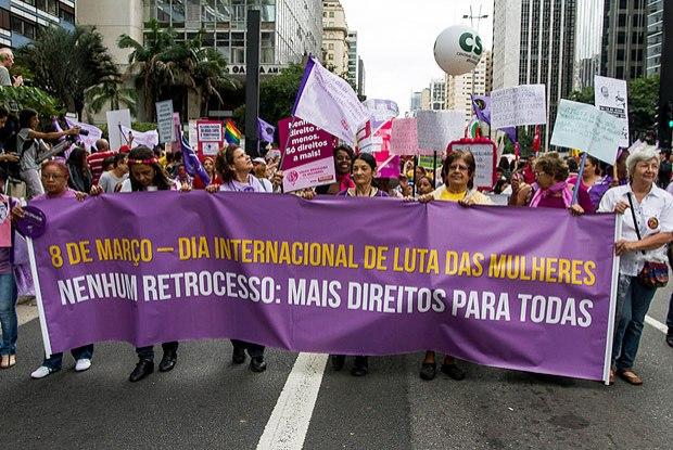 Como foi o Dia da Mulher no Brasil