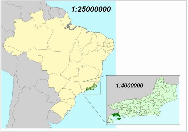 Escala Mapa