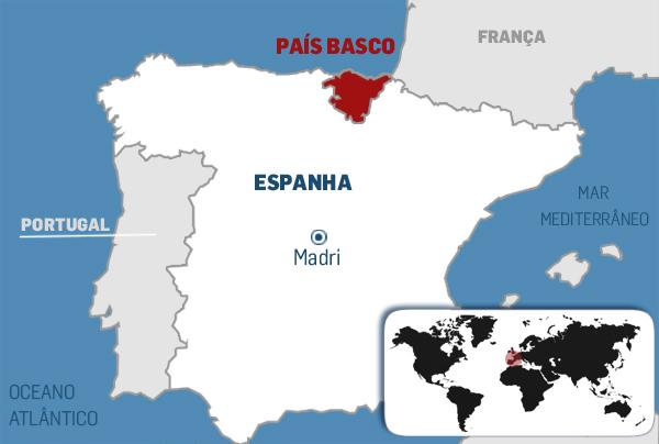 pais basco mapa País Basco e Cataluña: regiões nem tão espanholas como parecem  pais basco mapa