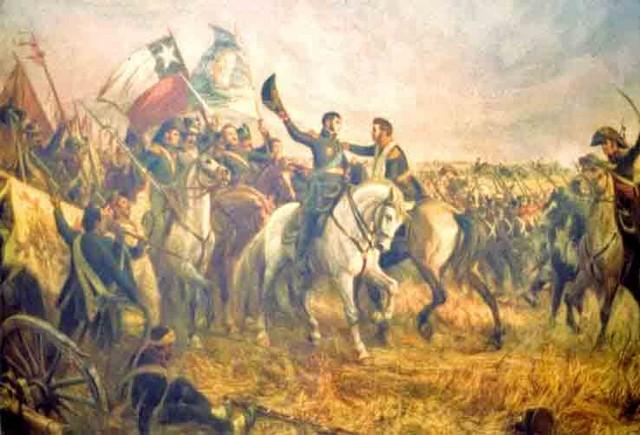 Detalhes da independência do Chile