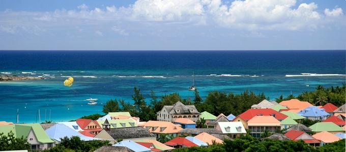Saint Martin (Ilha de São Martinho) a menor ilha do mundo
