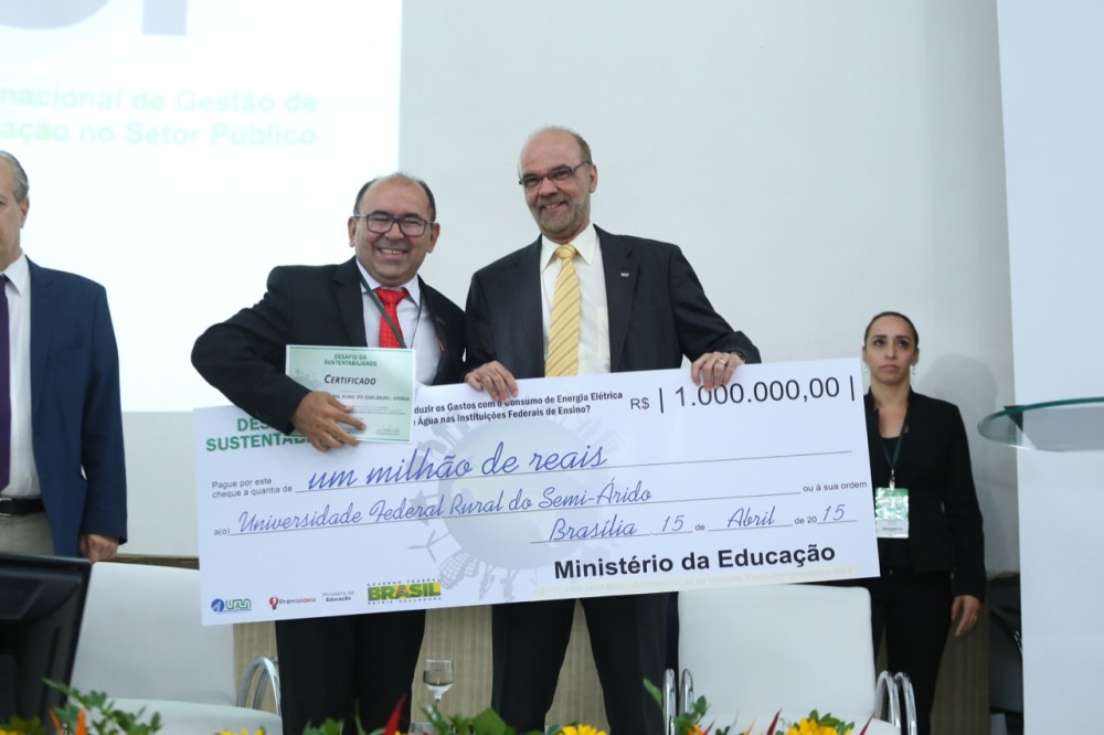 Ufersa ganha prêmio do MEC em Desafio de Sustentabilidade 2