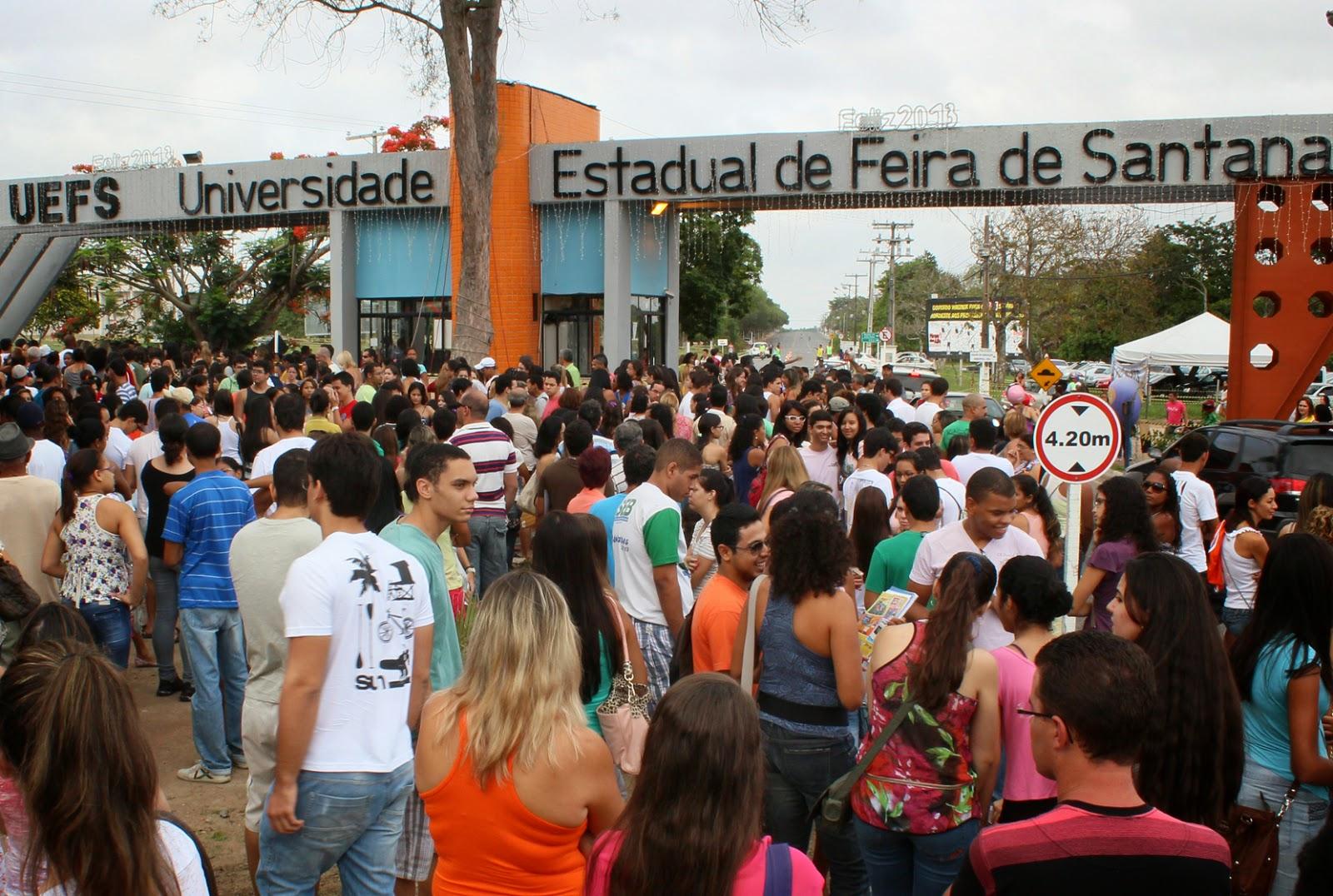 Universidade Estadual de Feira de Santana abre inscrições para vestibular de inverno 2015