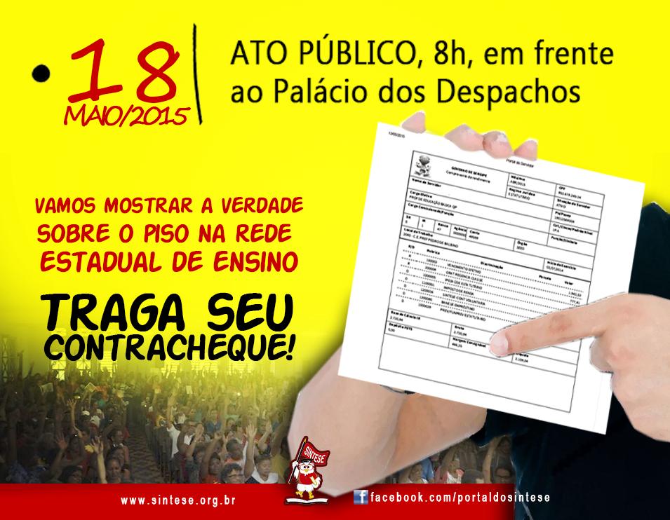 Professores estaduais de Sergipe anunciam greve a partir desta segunda-feira 2