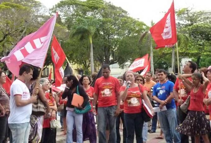 Professores estaduais de Sergipe anunciam greve a partir desta segunda-feira