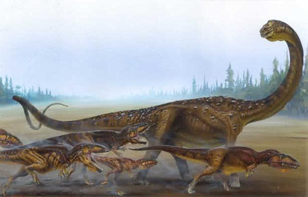 3 maiores dinossauros da história