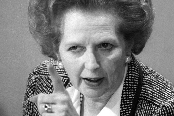 32 anos Thatcher