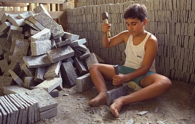 Infantil Trabalho Perigos