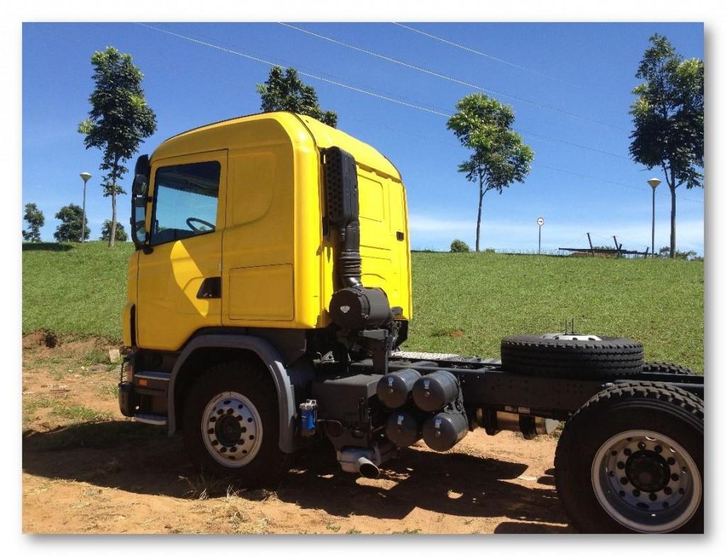 Pesquisadores da USP apresentam caminhão autônomo nacional