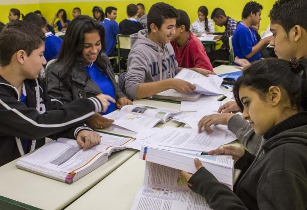Currículo do ensino médio público será flexível em São Paulo