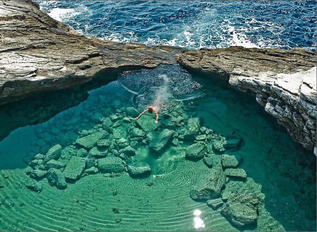 Piscinas naturais mais famosas mundo