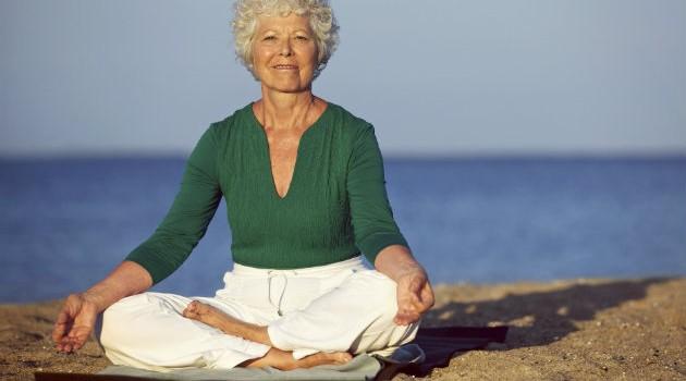 A meditação para os idosos