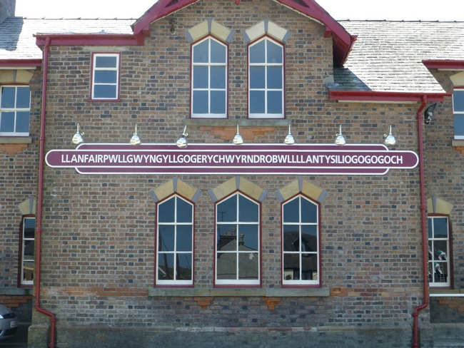 Curiosidades de Llanfairpwllgwyngyll