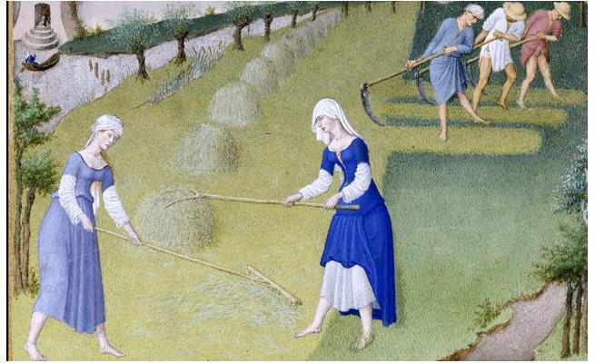 Como viviam as mulheres na Idade Média