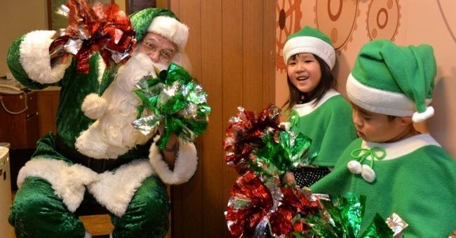 Papai Noel Verde