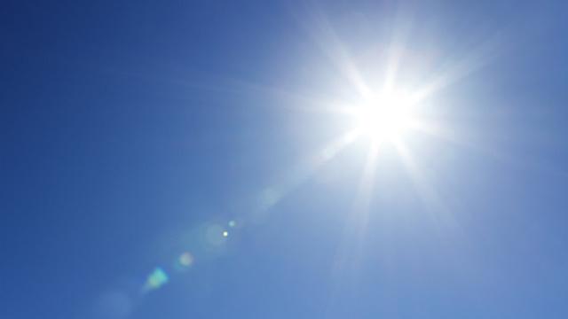 Por que o sol amarelo
