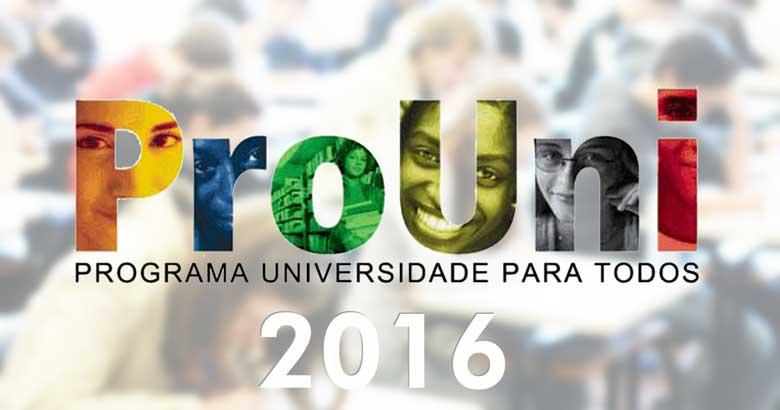 Estão abertas as inscrições para o Prouni 2016