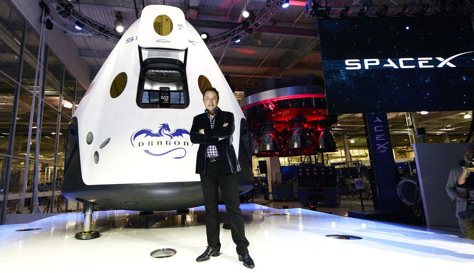 Resultado de imagem para EMPRESA SpaceX