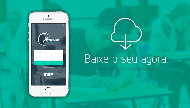 Ministério da Educação lança aplicativo para inscritos no Enem 2016 2