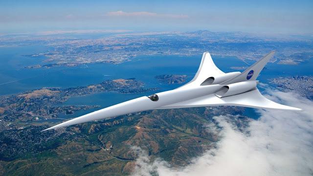 NASA avião totalmente elétrico
